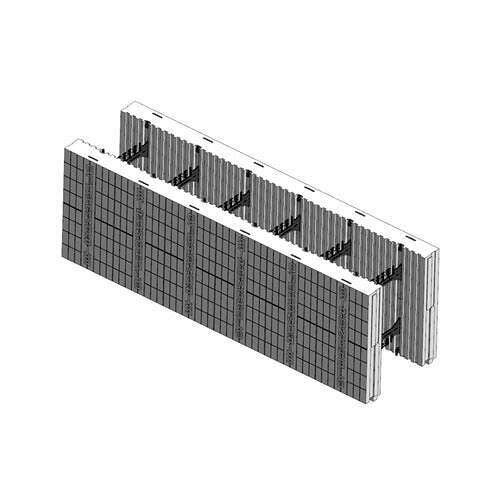 ICF Blocks & Insulation Products - FX Flat Top Block from Stronghold ICF