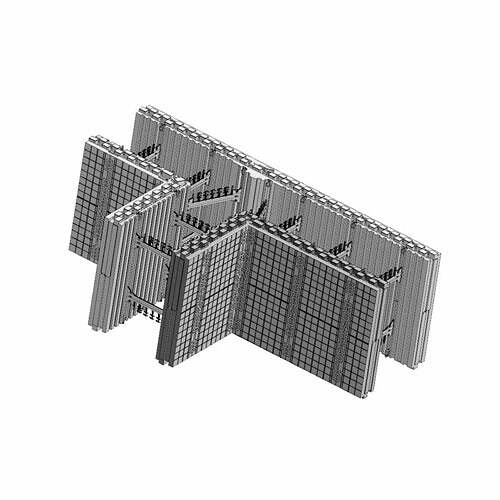ICF Blocks & Insulation Products - FX T-Block from Stronghold ICF