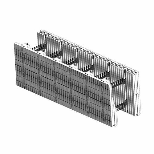 ICF Blocks & Insulation Products - FX Taper-Top Lock  Top Block from Stronghold ICF