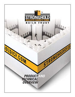 Stronghold ICF Blocks Product and Technical Overview for Canada & USA