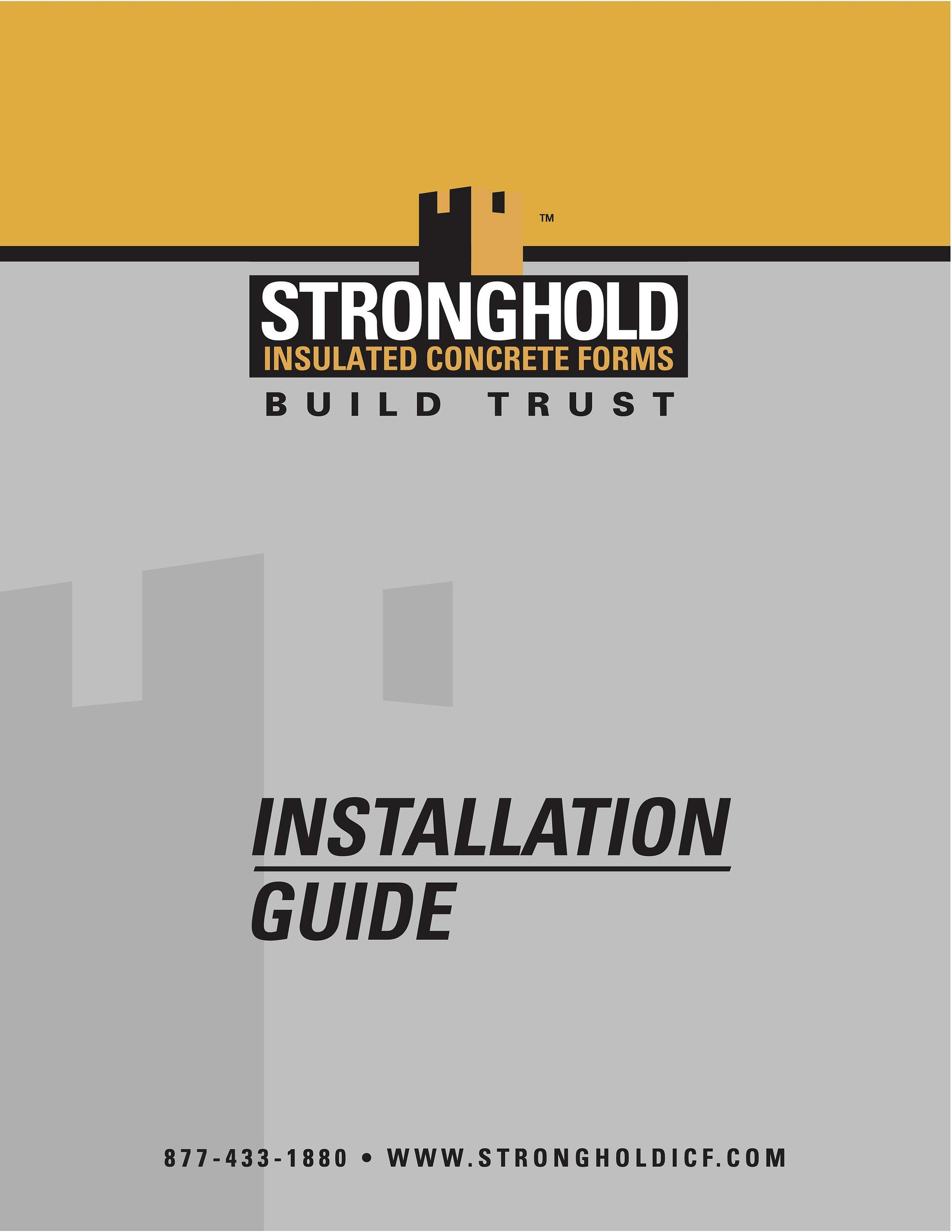 stronghold installation guide cover